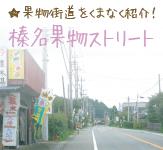 榛名果物ストリート